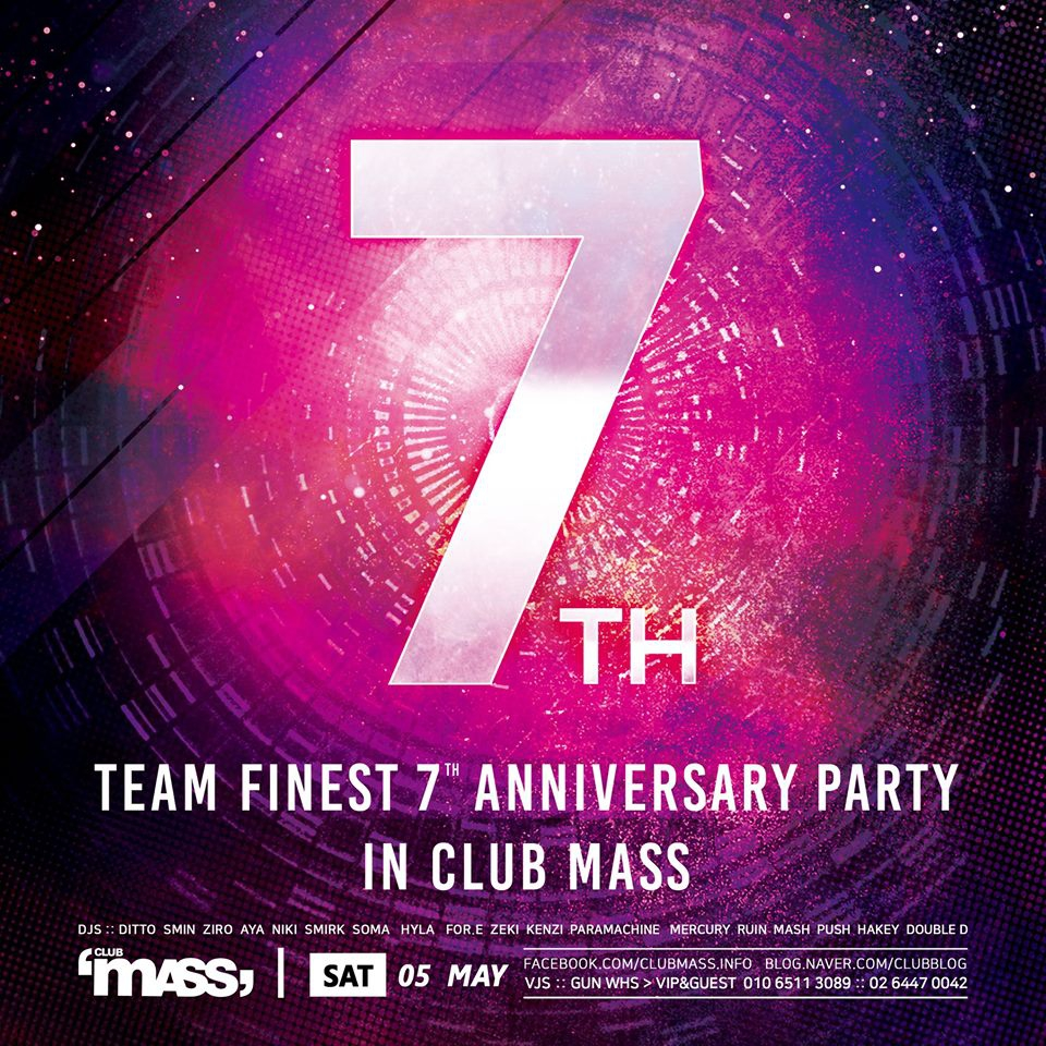 TEAM FINEXT 7TH ANNIVERSARY PARTY