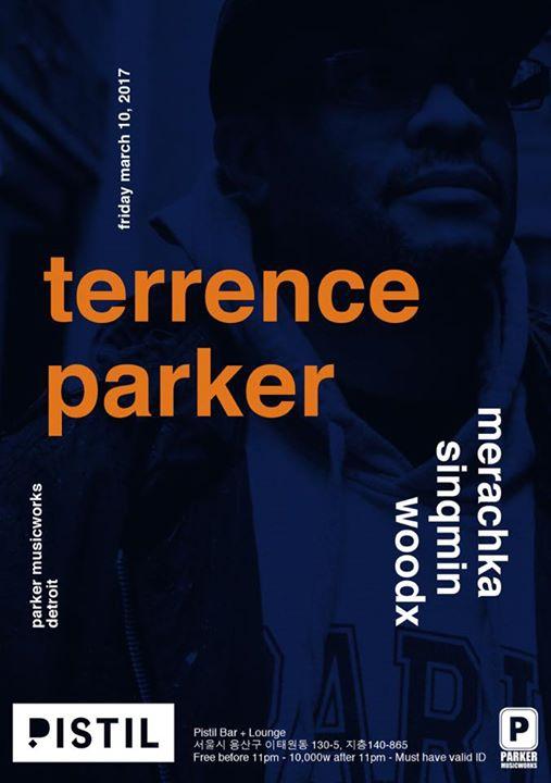 Terrence Parker ( Parker musicworks/ Detroit) at Pistil