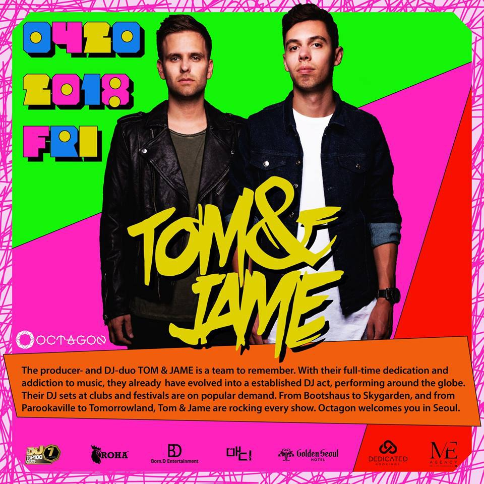 The Energetic Duo, TOM&JAME!
