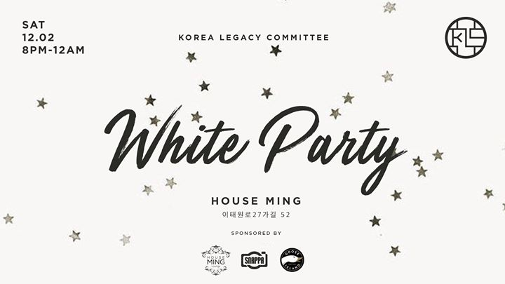 The KLC WHITE Party: Holiday Fundraiser