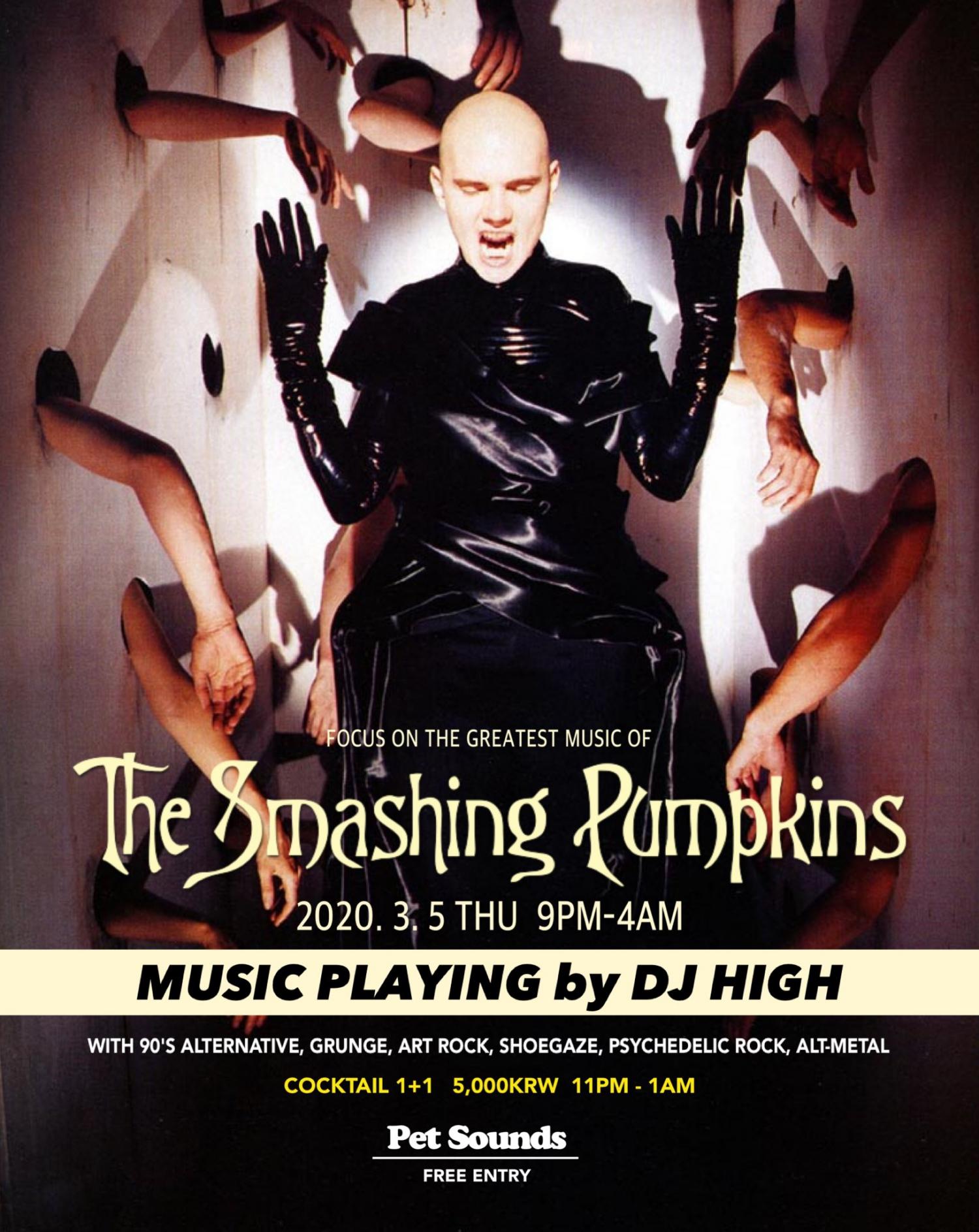 The smashing pumpkins @ Pet sounds