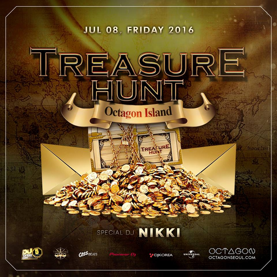 TREASURE HUNT at Club Octagon