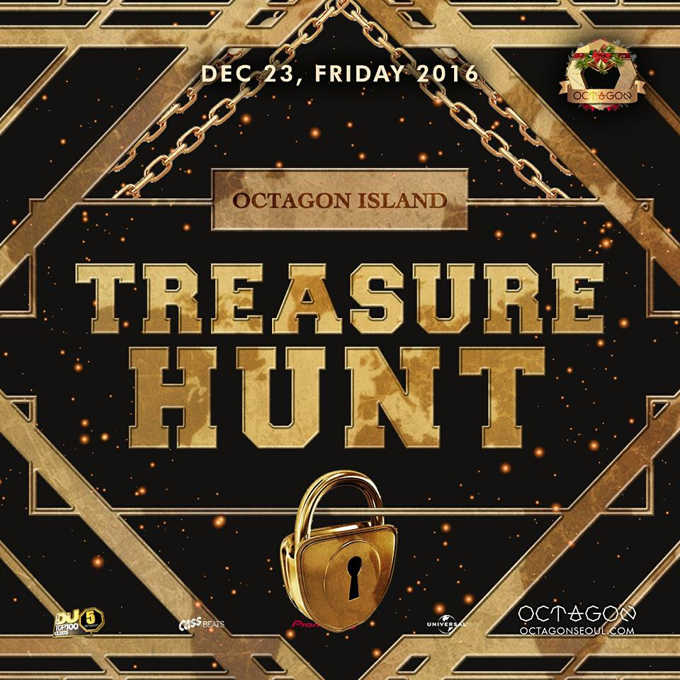 Treasure Hunt at Club Octagon this weekend