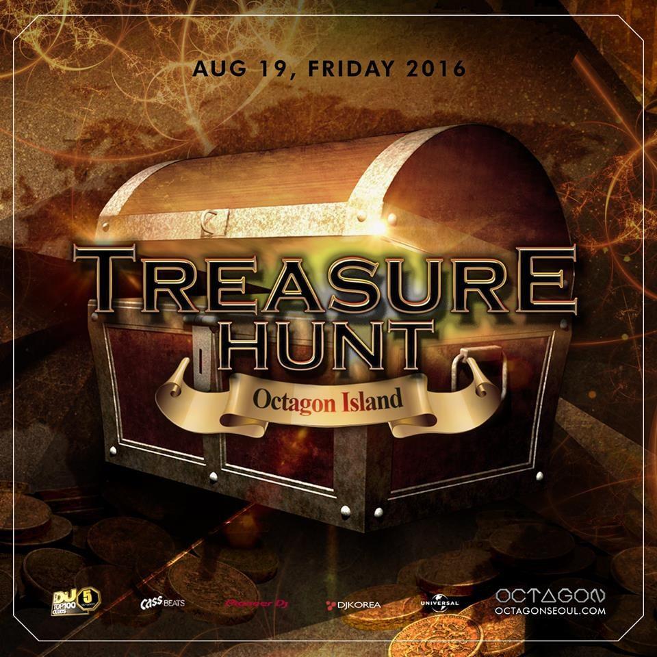 TREASURE HUNT this Friday