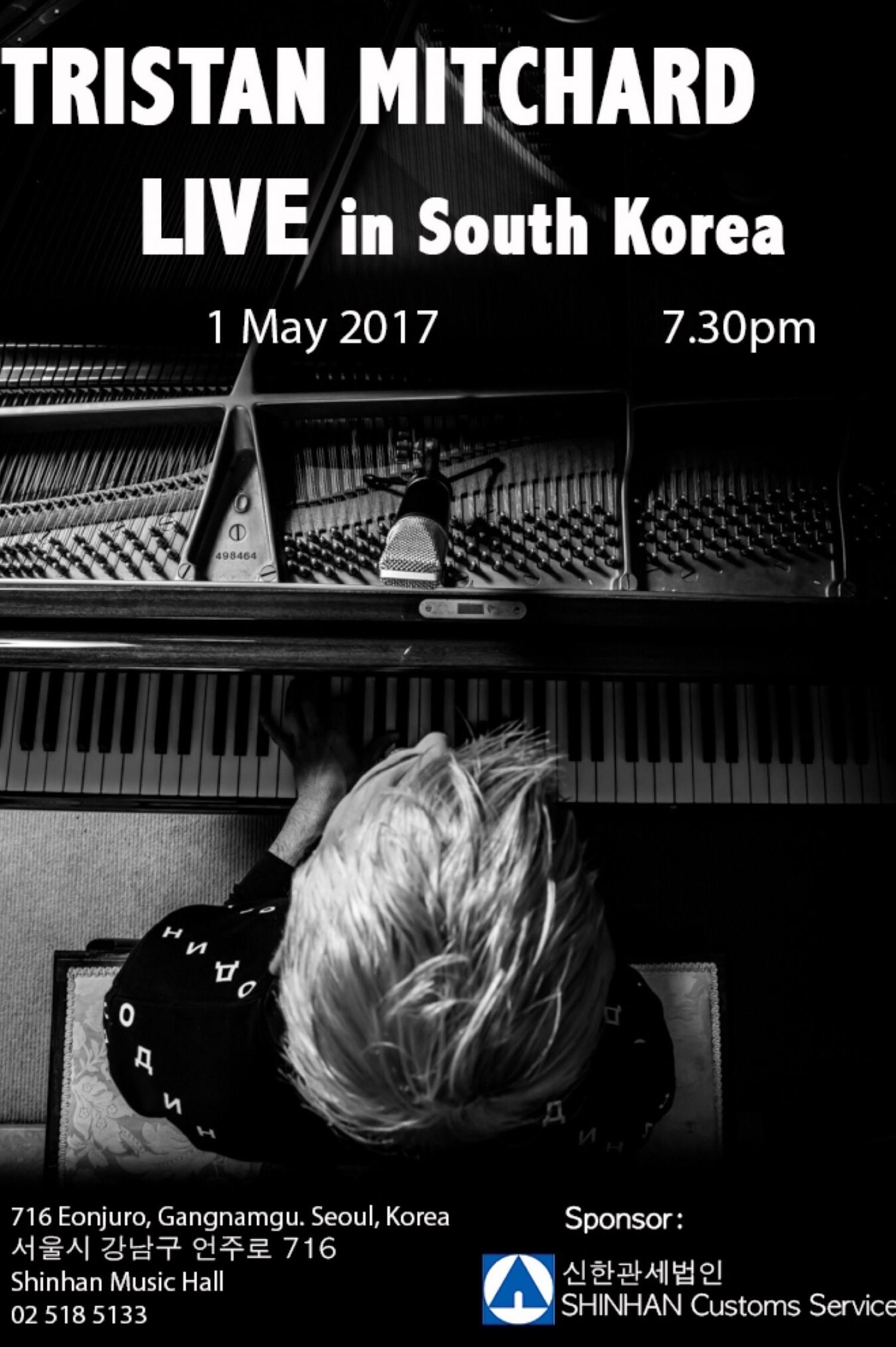 Tristan Mitchard Live In Seoul