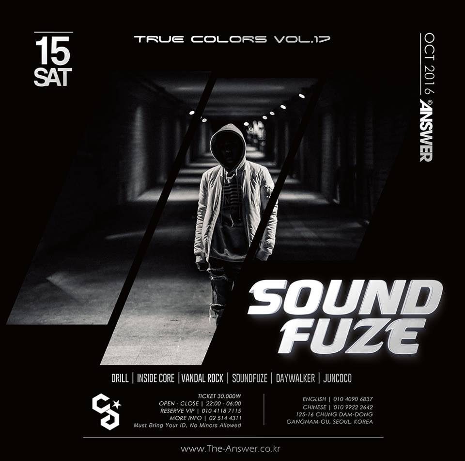 TRUE COLORS : SOUNDFUZE