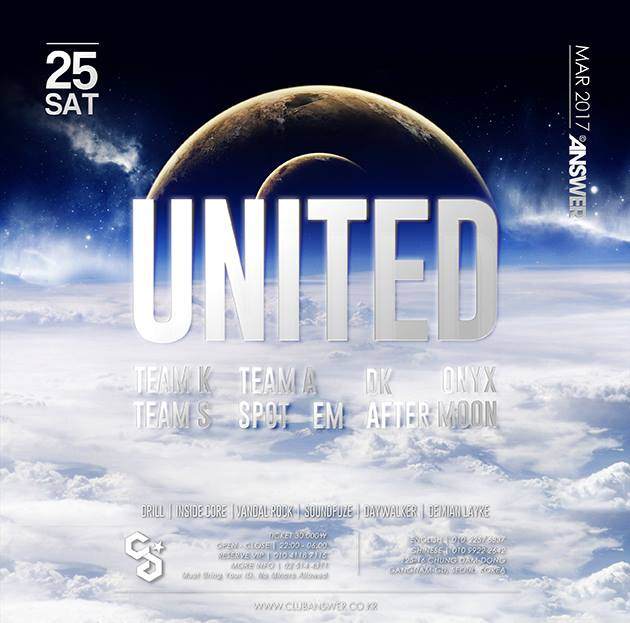 UNITED at Club Answer this Sat