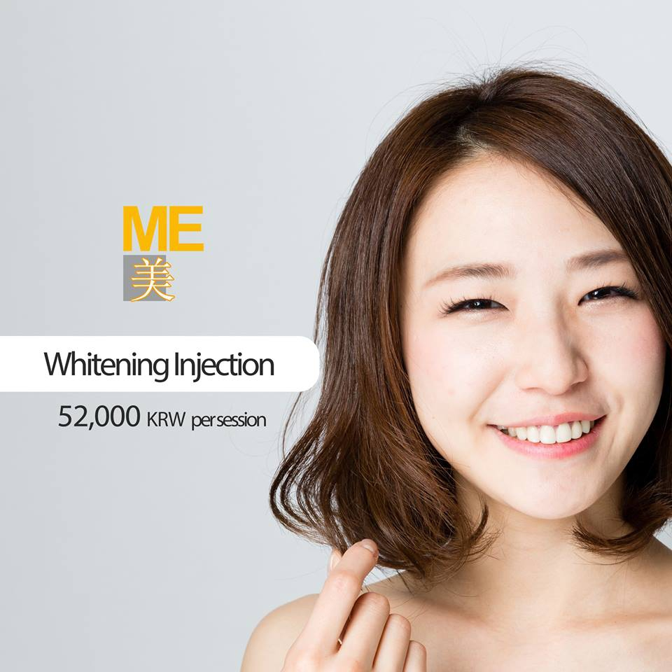 Whitening Injection Re-Promotion with Packages!