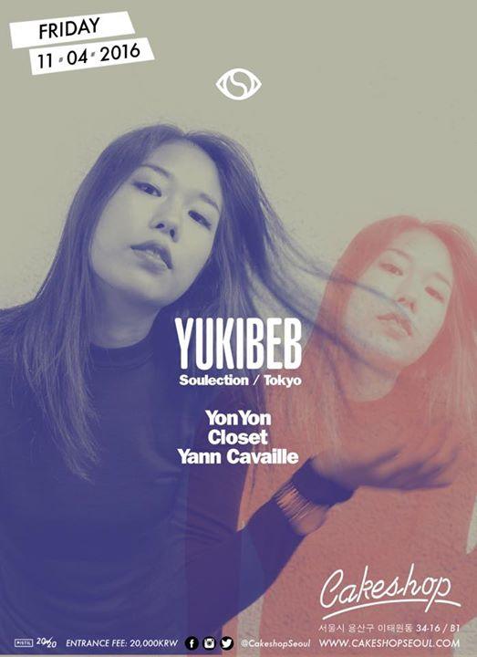 Yukibeb (Soulection/Tokyo) at Cakeshop