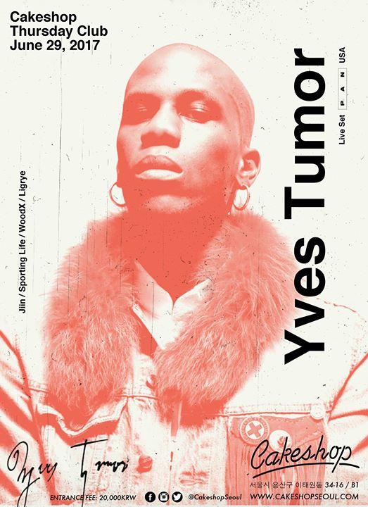 Yves Tumor live set ( PAN/ USA) at Cakeshop