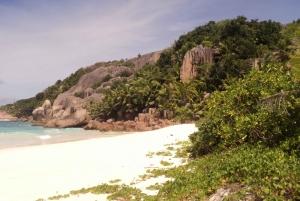 From Praslin: Cocos, Felicite & La Digue Islands Tour