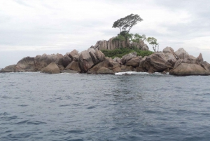 From Praslin: Sister & St Pierre Island Tour with Lunch