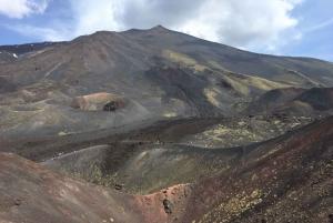 Catania: Mount Etna Morning Jeep Tour