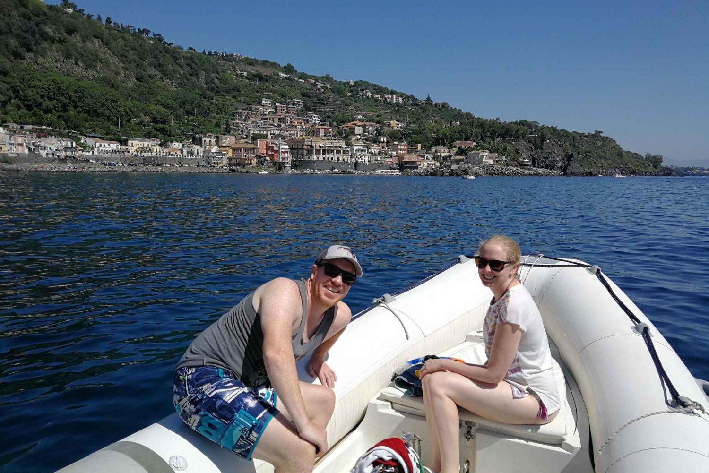Catania: Mount Etna Tour with Cruise