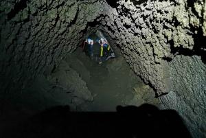 Catania: Mount Etna Trek and Cave Tour