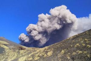 Catania: Mount Etna Volcano and Alcantara Park Tour