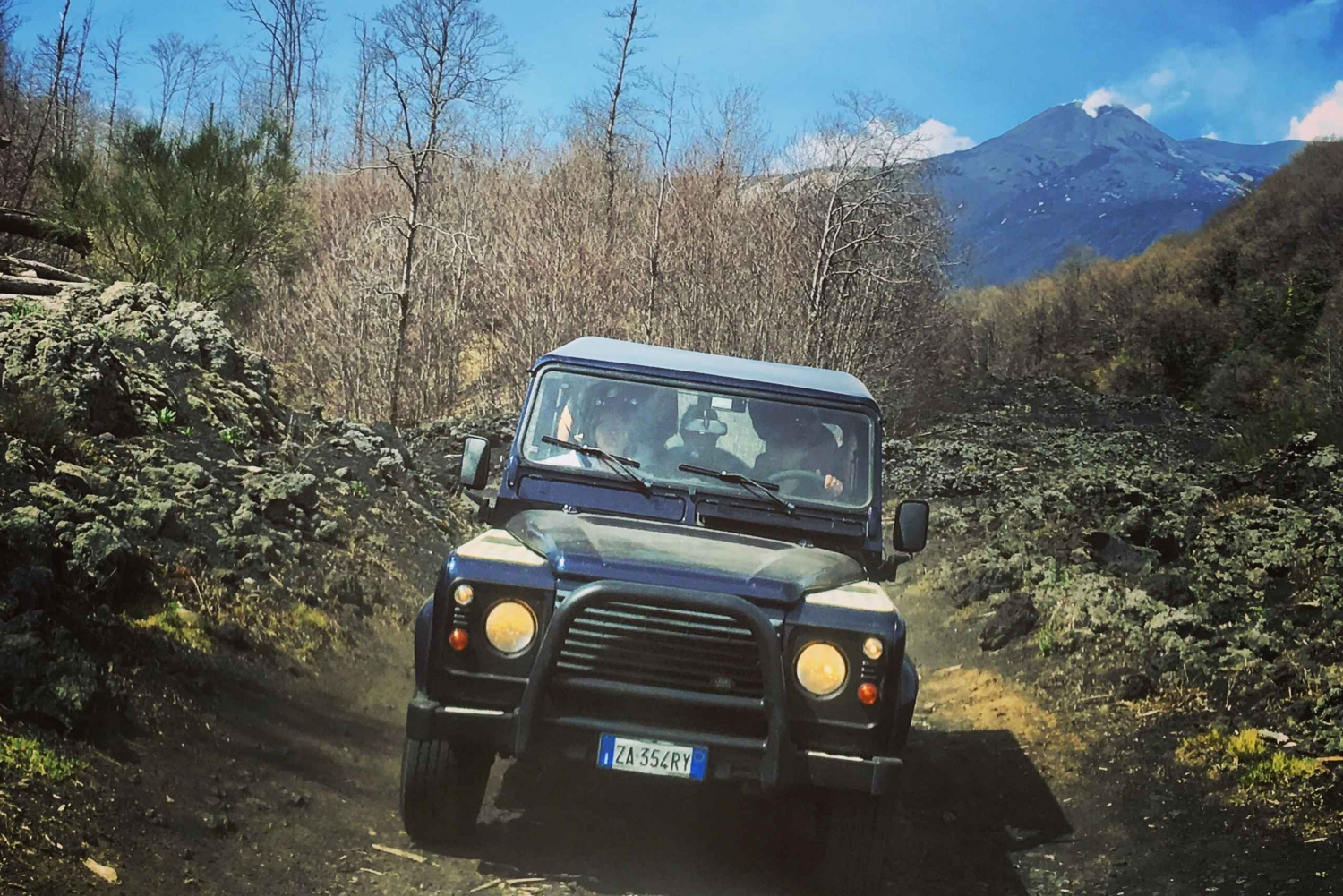 Etna 4x4 Half Day Tour