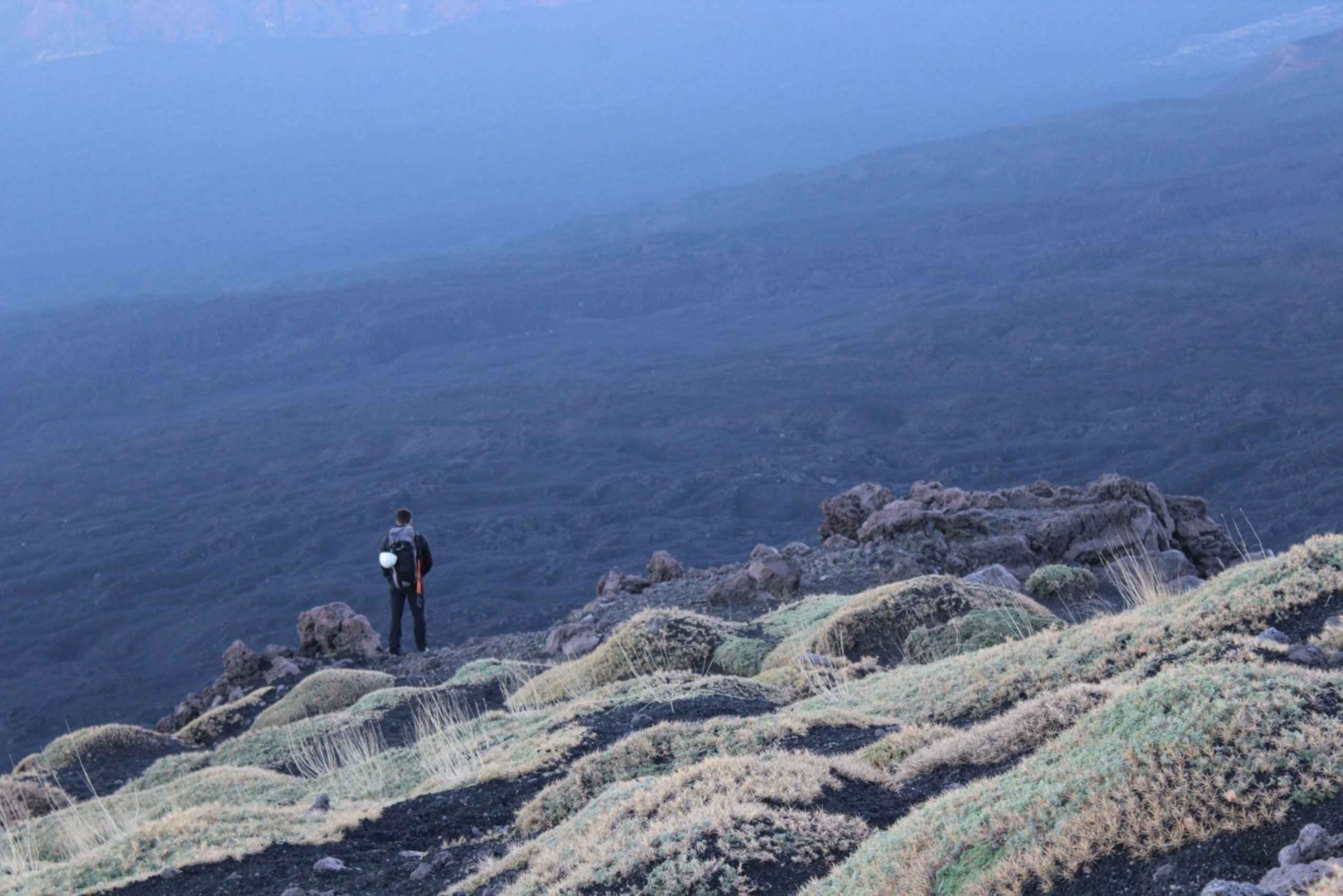 Etna: Hiking Tour To Discovery Bove Valley and Lava Caves