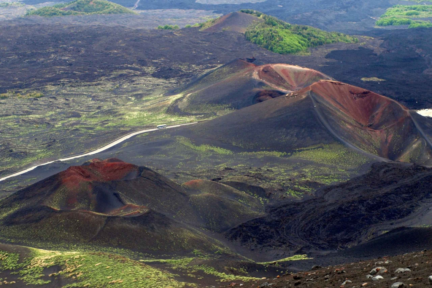 Etna in the Morning: Half Day Excursion from Catania