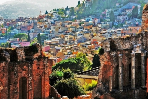 Excursion to Volcano Etna and Afternoon Visit to Taormina
