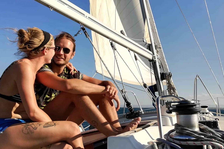 Faraglioni: Half-Day Morning Sailboat Tour with Snorkeling