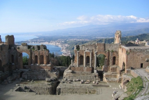 From Catania: Etna and Taormina Excursion