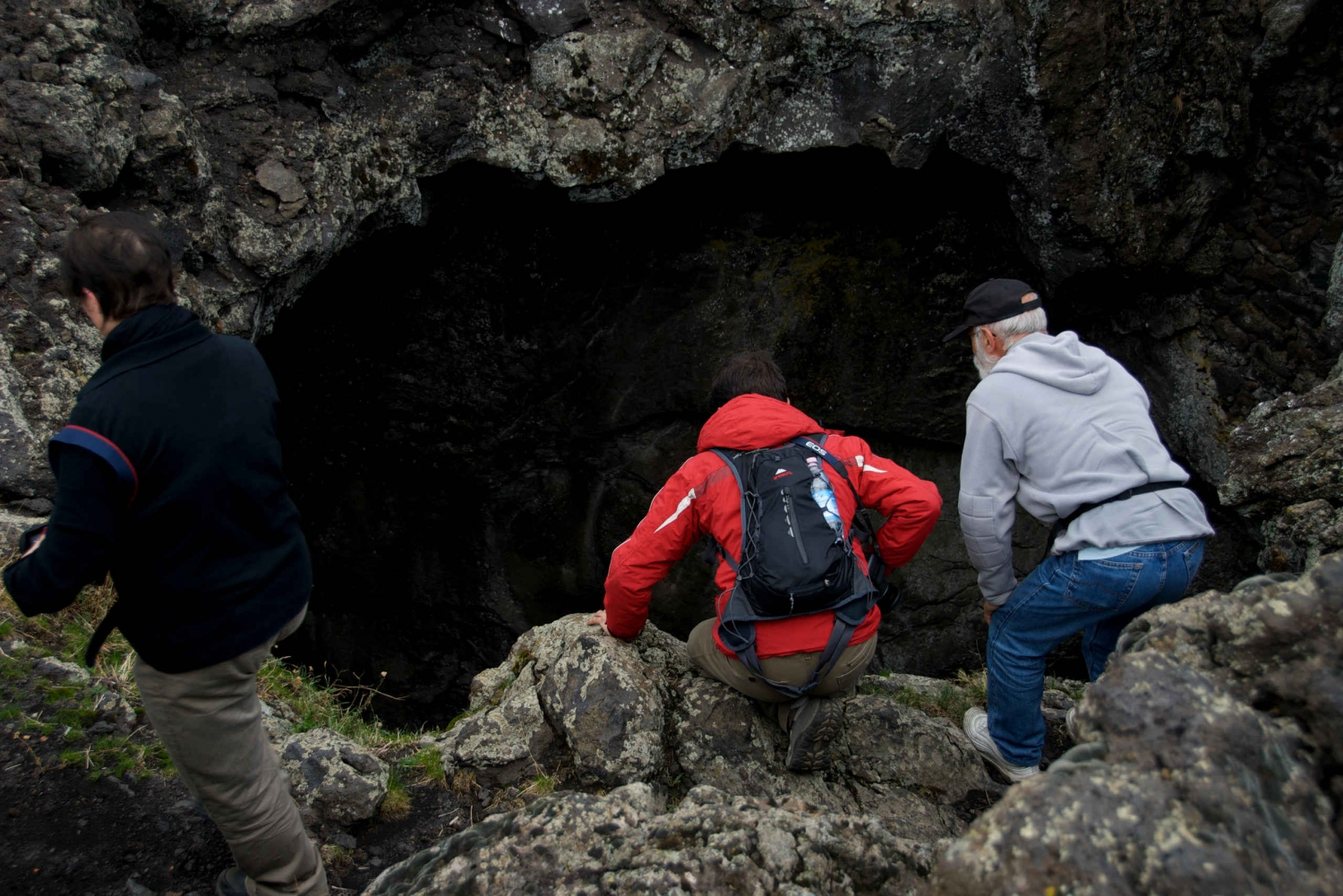 From Catania: Full-Day Etna Caving Tour