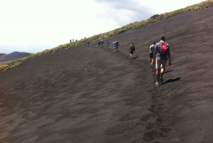 From Catania: Mount Etna Half-Day Tour and Wine Experience