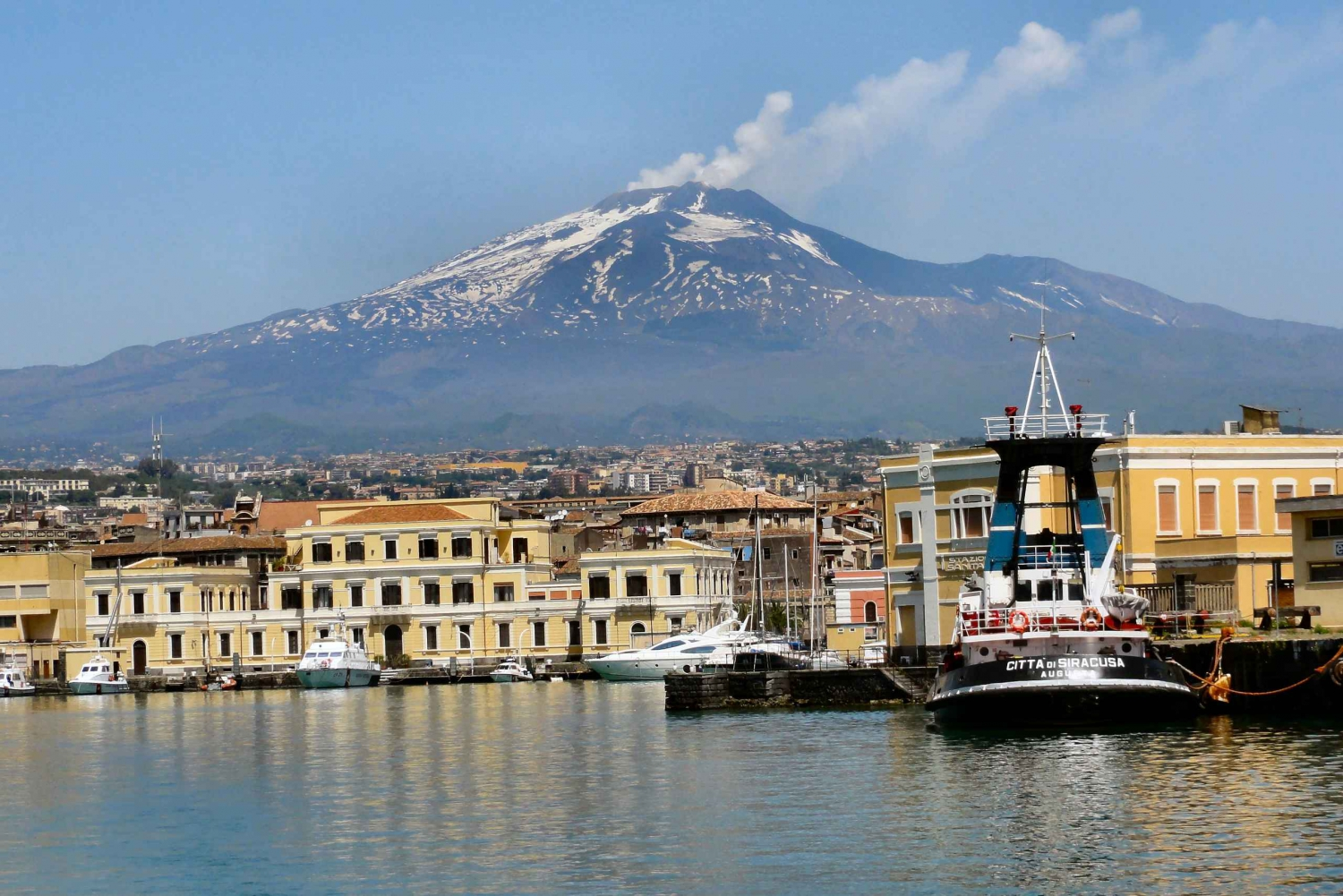 From Catania: Sailing Trip with Buffet Lunch