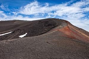 From Catania/Taormina: Mount Etna Cablecar & 4WD Tour