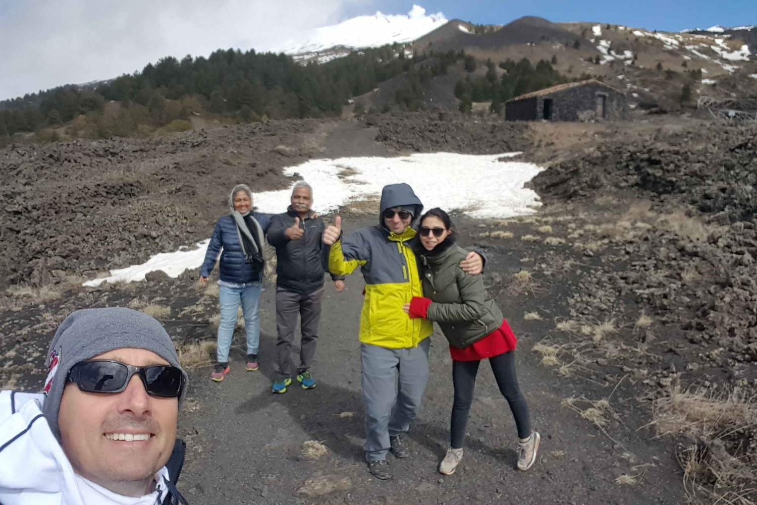 From Catania: Trek through Etna, Acireale, and Acitrezza