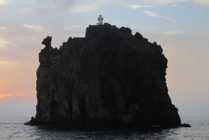 From Milazzo: Panarea and Stromboli Boat Trip by Night
