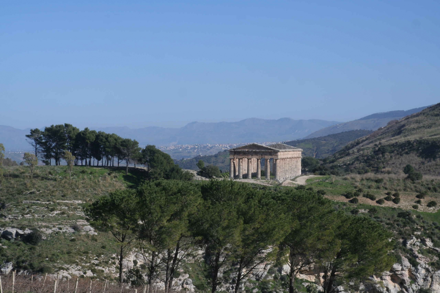 From Palermo: Mt. Pispisa Hike and Thermal Spring Tour