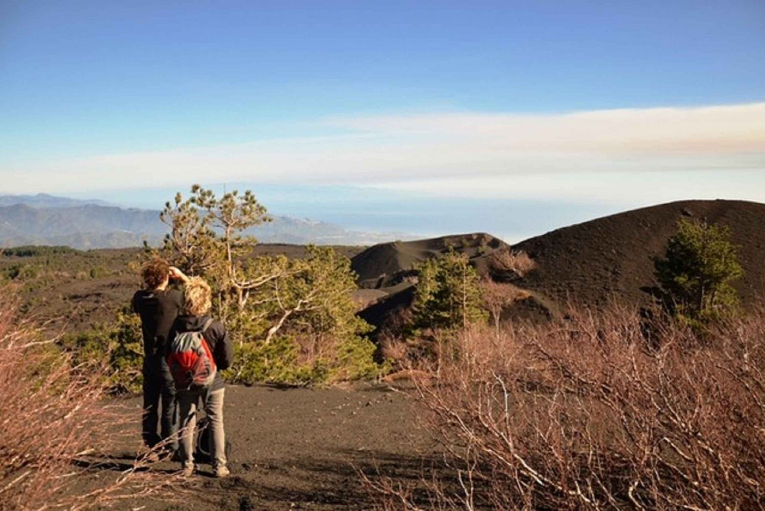 From Taormina: Etna Trekking w/ Picnic Lunch