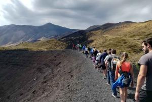 From Taormina: Half-Day Mount Etna Morning Trek