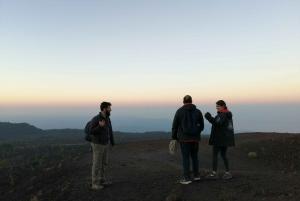 From Taormina: Mount Etna Half-Day Evening Hike
