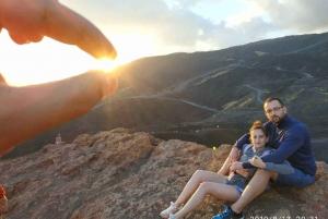 From Taormina: Mount Etna Sunset Tour