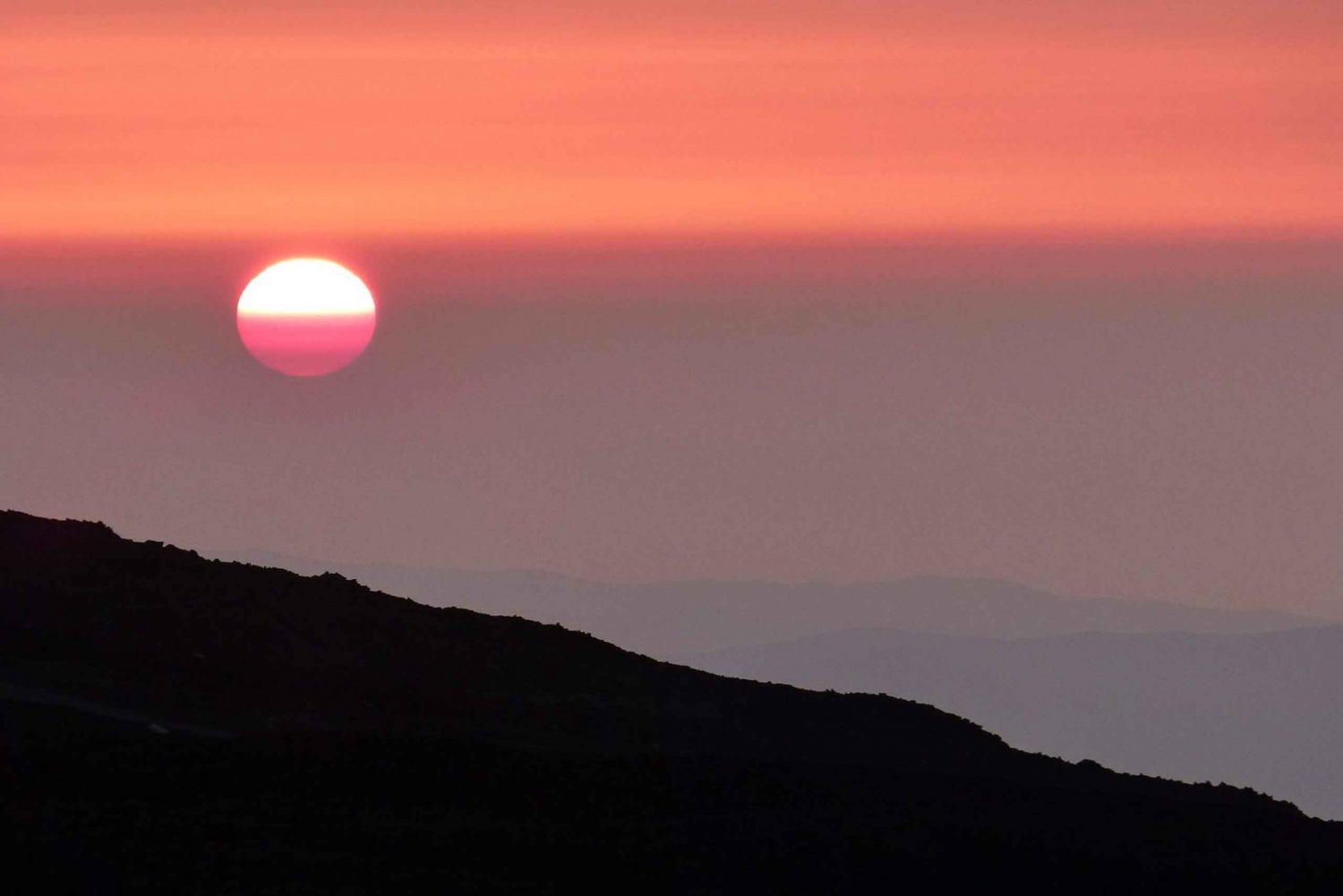 From Taormina: Sunset Experience on Mount Etna Upper Craters