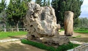 Luigi Pirandello's tomb