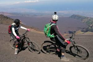 Mount Etna Mountain E-Bike Enduro Tour