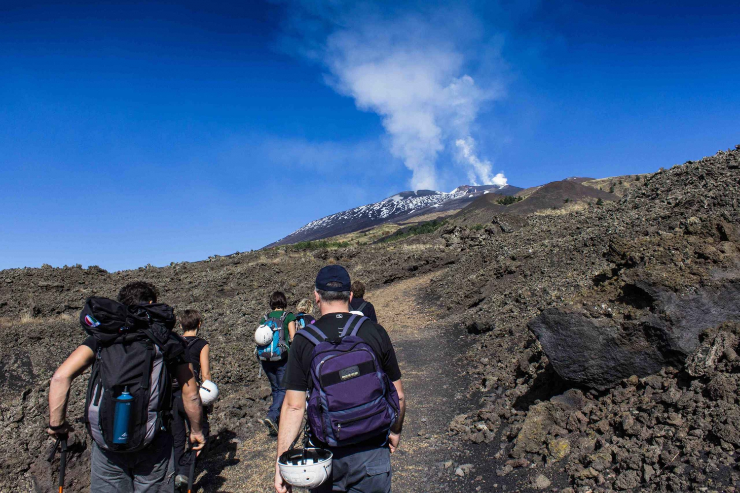 Mount Etna: Soft Trekking in the Recent and Old Lava Flows