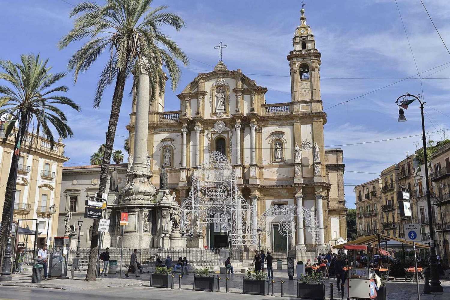 Palermo: Authentic Tastes & Amusing Tales Food Tour