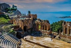 Palermo: Private Mount Etna, Taormina, and Castelmola Tour