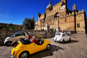 Palermo: Vintage Fiat 500 Sightseeing Tour
