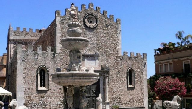 Piazza del Duomo Taormina