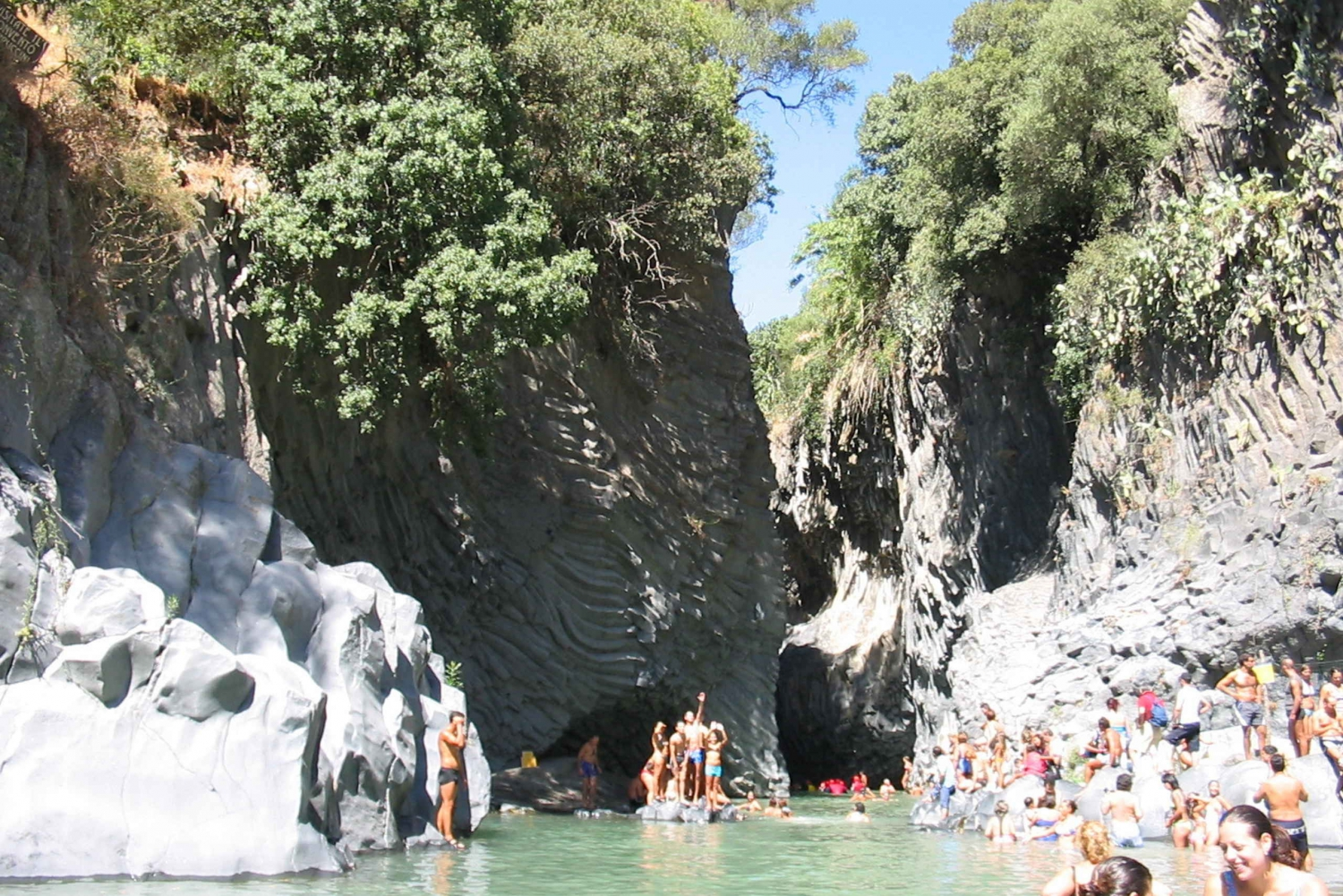 Private Tour of Alcantara Gorges. Including Food and Wine