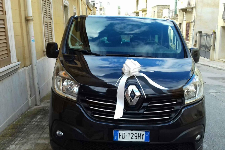 Private Transfers from Trapani Airport to San Vito Lo Capo