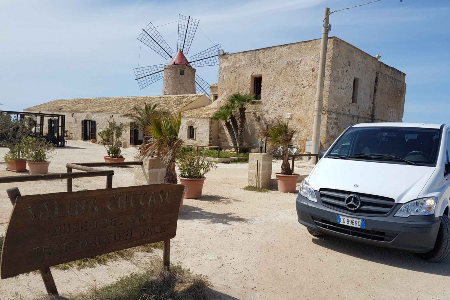 Private Transfers from Trapani City to Trapani Airport