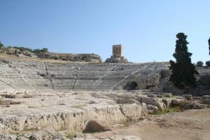 Syracuse: Greek Theater, Food Market, and Ortigia Island