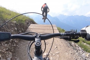 Taormina: Guided Mount Etna Tour with an Enduro E-Bike